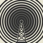 Transmitter icon or sign