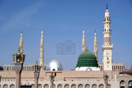 Masjid Al Nabawi or Nabawi Mosque (Mosque of the P...