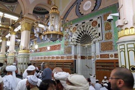 mihrab of Masjid Nabawi and
