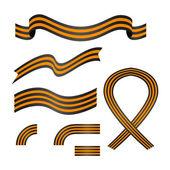 Ribbon of Saint George set Georgievskie lenty