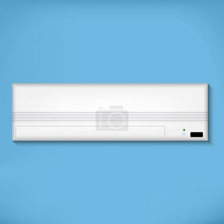 White Airconditioner