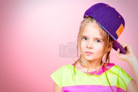 modern kid. Kid's style.