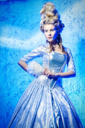 Ice Queen. Baroque and Renaissance style.
