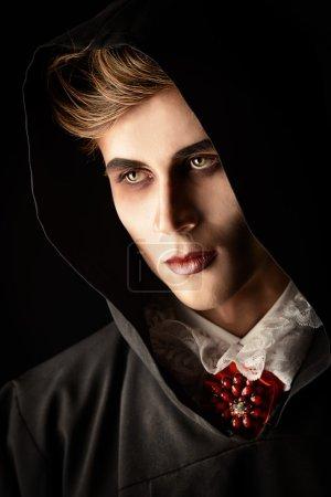 scary vampire. Halloween.