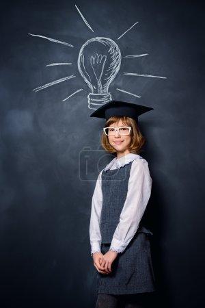 best idea. Educational concept.