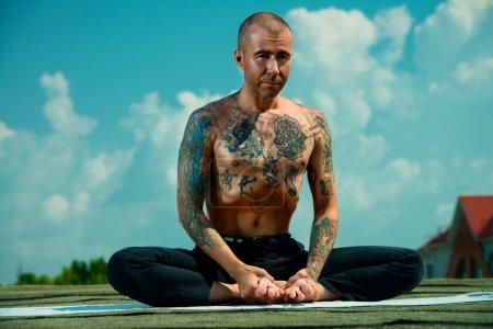meditation.Yoga concept.