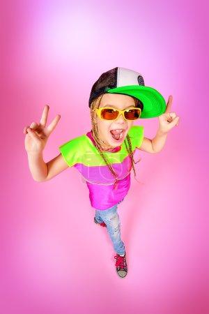 cool child. Kid's fashion.