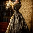 Renaissance Style -  beautiful young woman in the ...