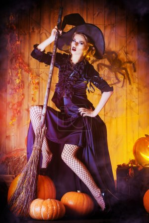 Witch house broom
