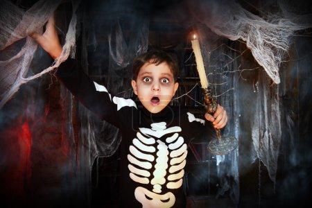 scary sceleton Halloween