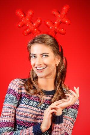 holiday tred. Christmas girl