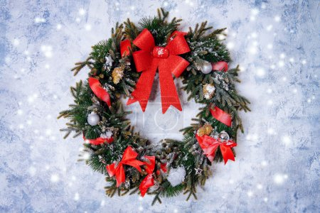 christmas wreath. Beautiful