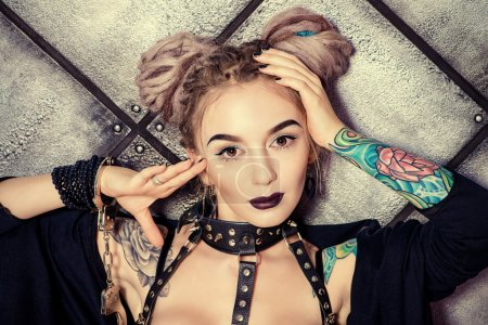 black seduction. BDSM.