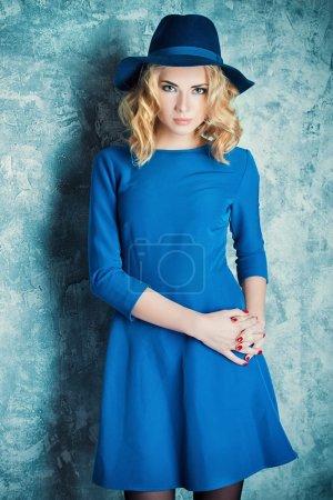 fashion model. Bright style, fashion.