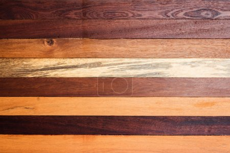 Photo for Grunge wood panels are horizontal alignment. - Royalty Free Image