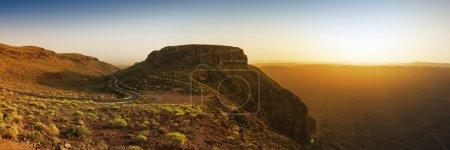 Gran Canaria sunrise panorama