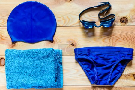 accessories for competitive swimming in the pool for boys