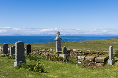Kilmuir Graveyard View