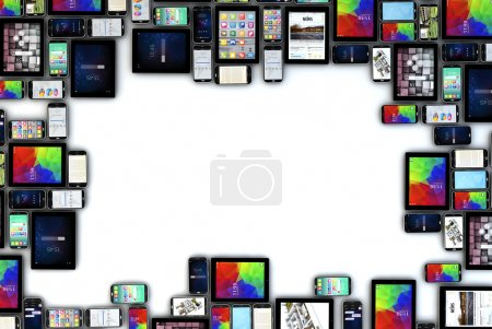 blank devices frame