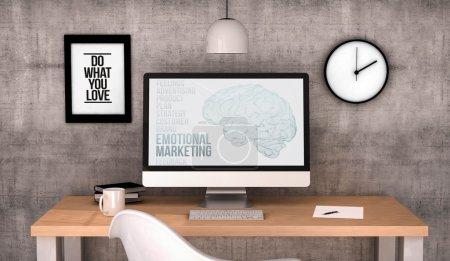 workspace computer emotional marketing