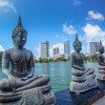 Beautiful bTemple in Colombo, Sri Lanka...