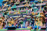 Beautiful statues in  temple