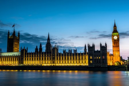 The Palace of Westminster, Big Ben