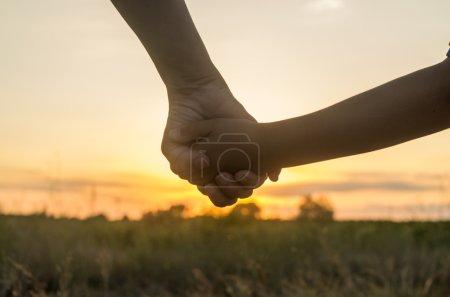 hand holding 2