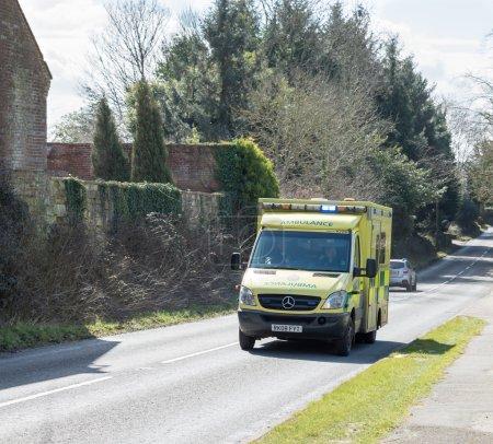 Emergency Ambulance on call