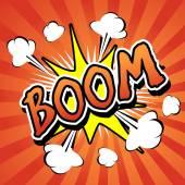 Boom! - Comic Speech Bubble Cartoon