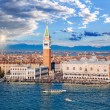 Piazza San Marco with Bell Tower and the Doge Pala...