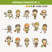 sportman character set