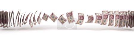 Photo pour Pesos mexicains Transfert (isolé avec chemin de coupe ) - image libre de droit