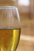 Closeup půl piva