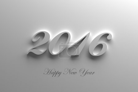 Photo for New Year 2016 - Royalty Free Image
