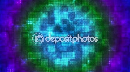 Twinkling Hi-Tech Rounded Diamond Light Patterns 08
