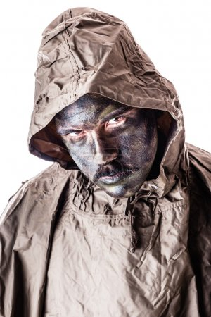 Poncho soldier