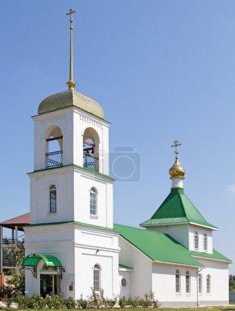 Orthodox church in Kuchugury