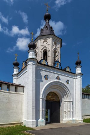 Photo for South gate in Holy Dormition Monastery, Staritsa, Russia - Royalty Free Image