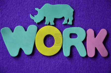 word work on a  abstract