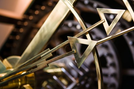 Photo for Clock hand detail, very shallow focus - Royalty Free Image
