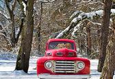 A régi teherautó Arany-Vizsla