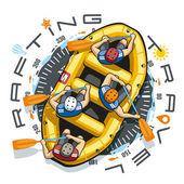 Rafting Travel Boat