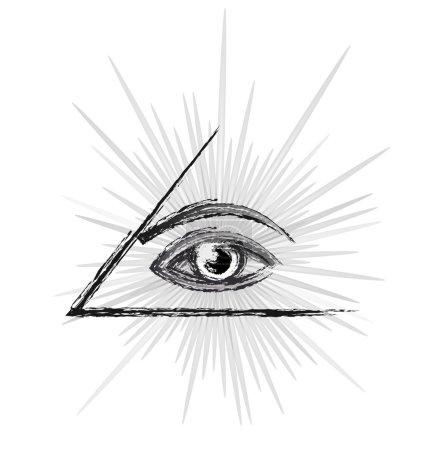 Eye of providence sketch