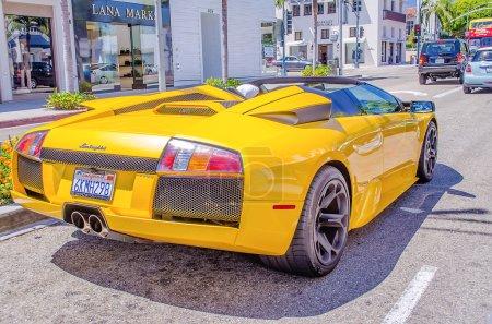 Lamborghini Supercar in Rodeo Drive