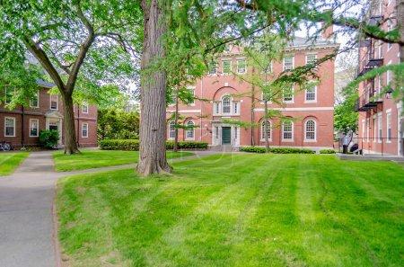 Photo pour Inside Harvard University Campus, Cambridge, États-Unis - image libre de droit