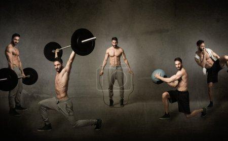crossfit workout concept