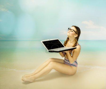 Sun bath in a nerd style