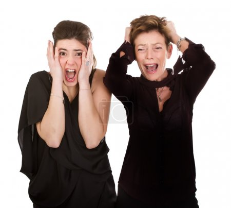 Photo pour Expression et émotion des gens - image libre de droit