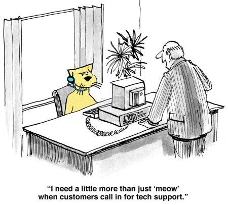 Customer Service Meow